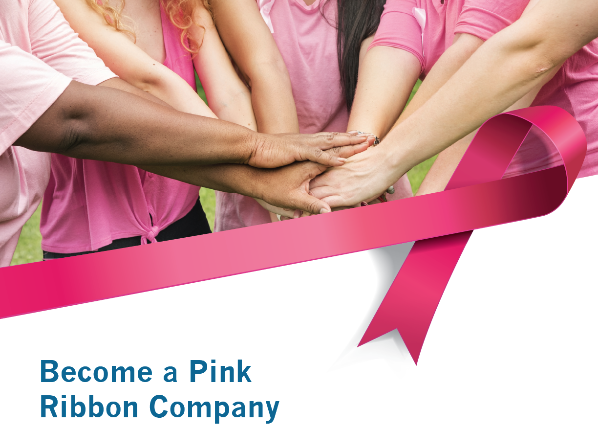 become a pink ribbon company