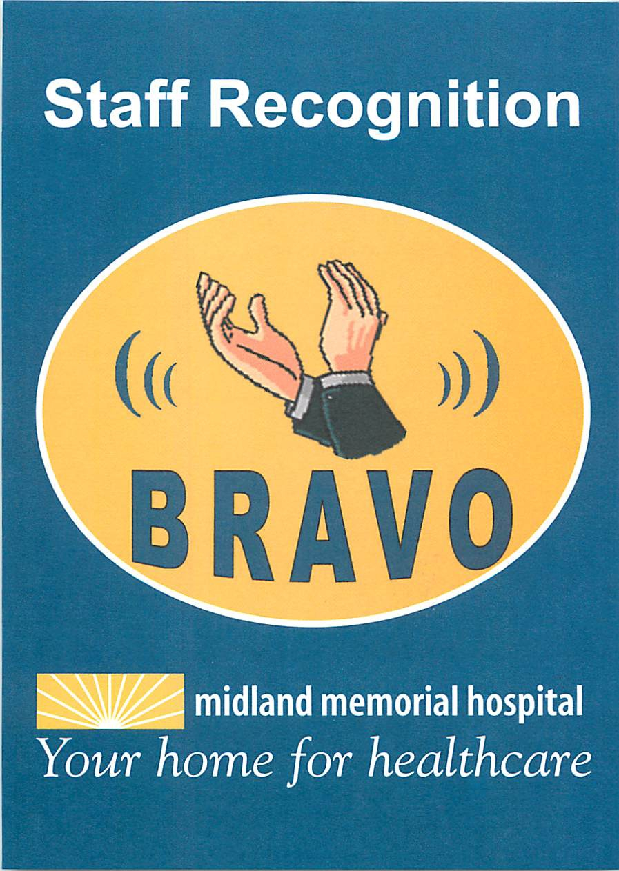 Bravo Staff Recognition
