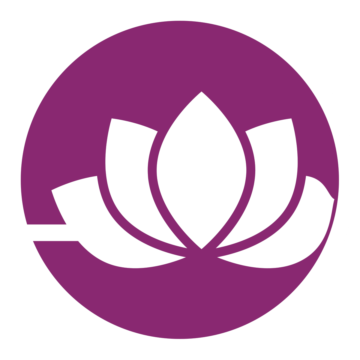 Purple Lotus Icon