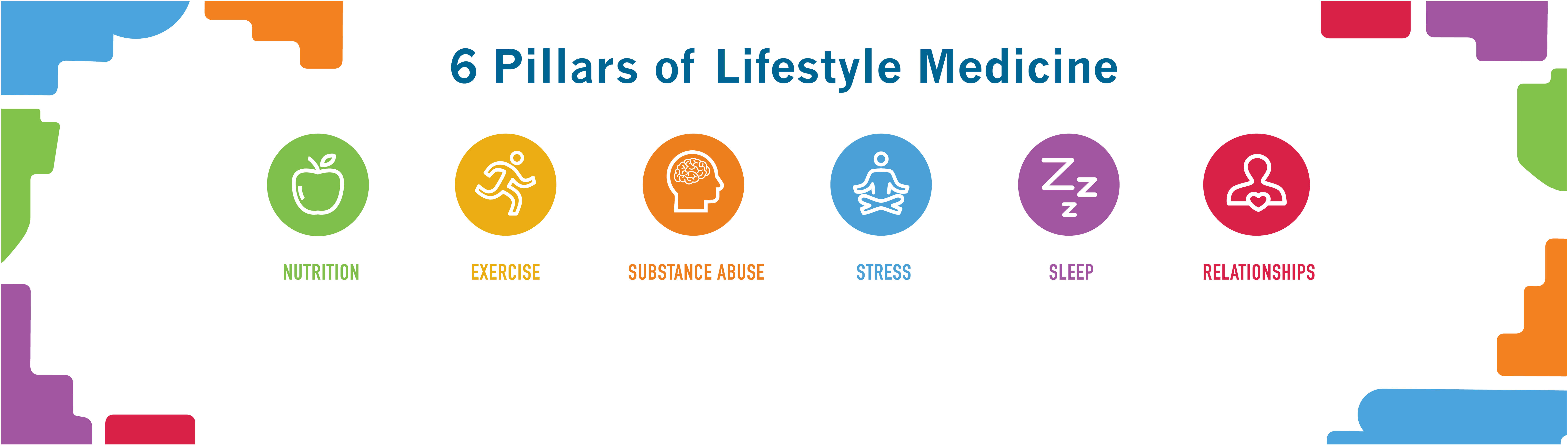 6 Pillars of Lifestyle Medicine