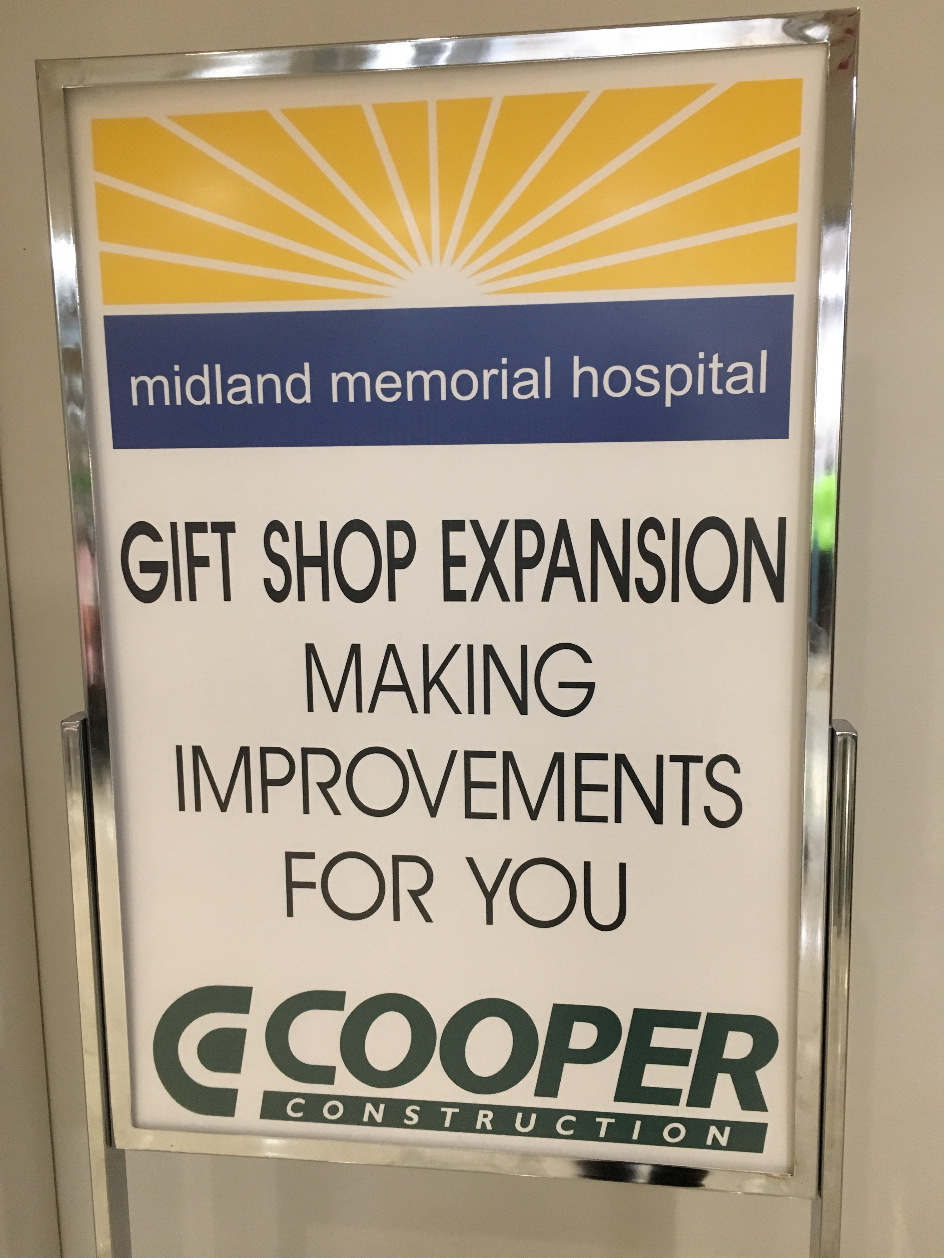 Midland Memorial Gift Shop Expansion